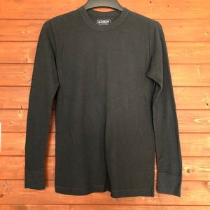 Magellan Outdoors Waffle Knit Long Sleeve size L